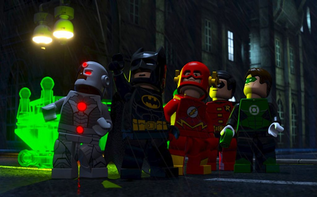 lego batman the movie dc superheroes unite cast