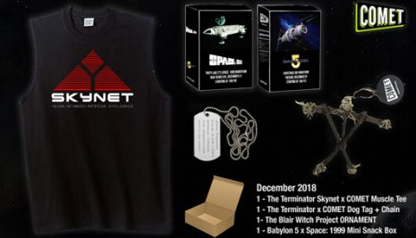 COMET & CHARGE! December Giveaway!
